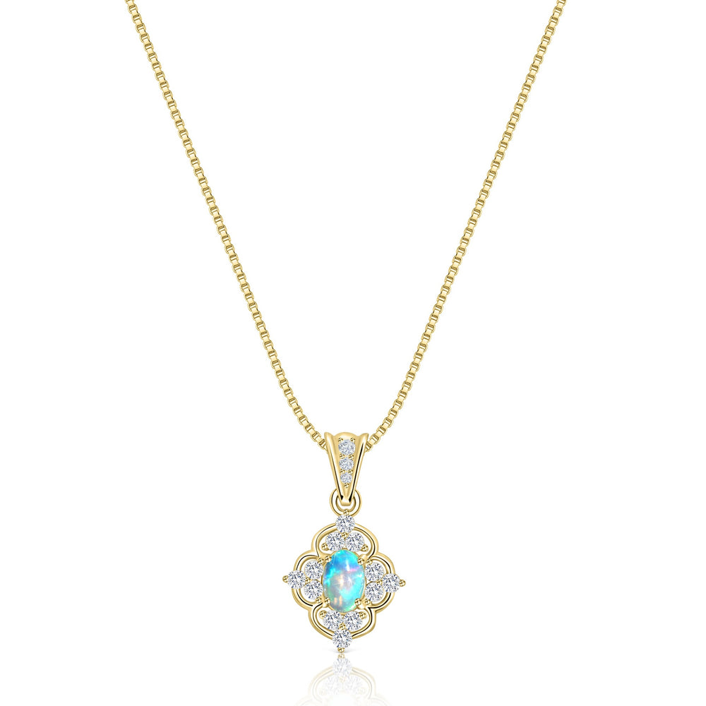 Serena Opal Necklace