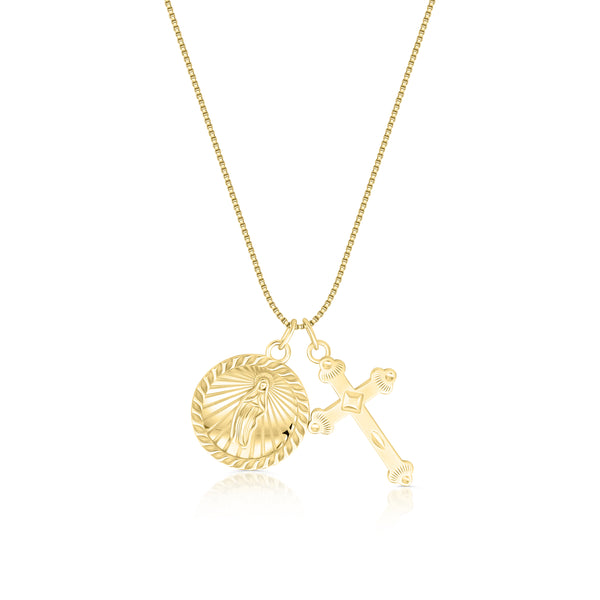 Eija Cross x Mary Necklace