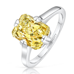Golden Hour Diamond Ring