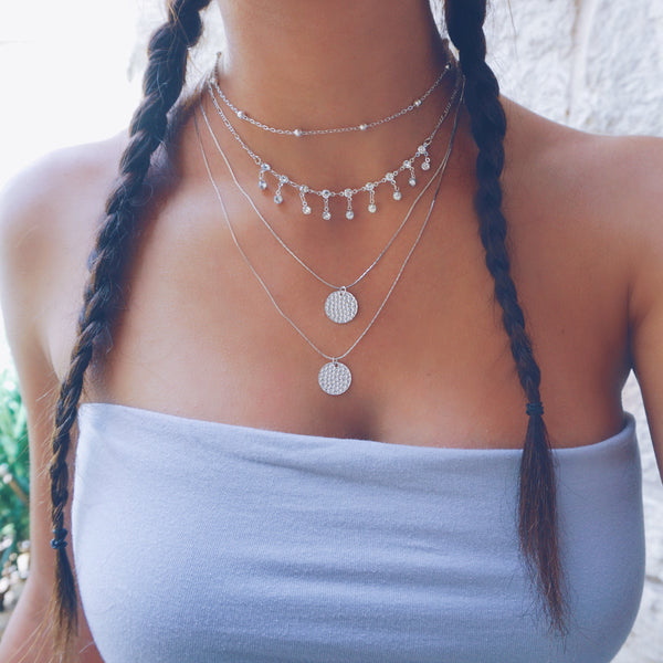 Diamond Fall Choker
