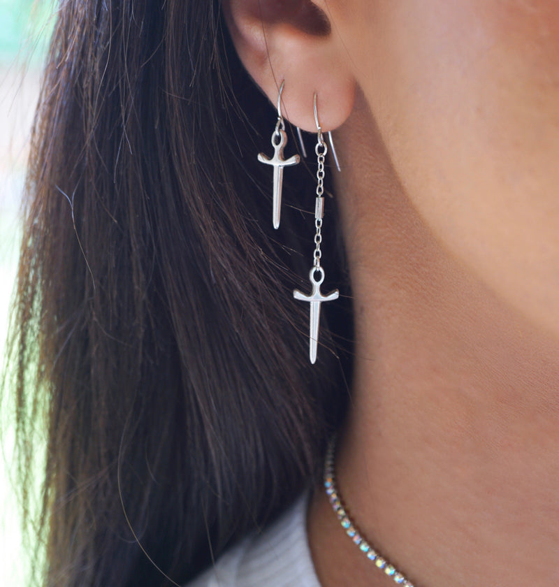 Knight Earrings