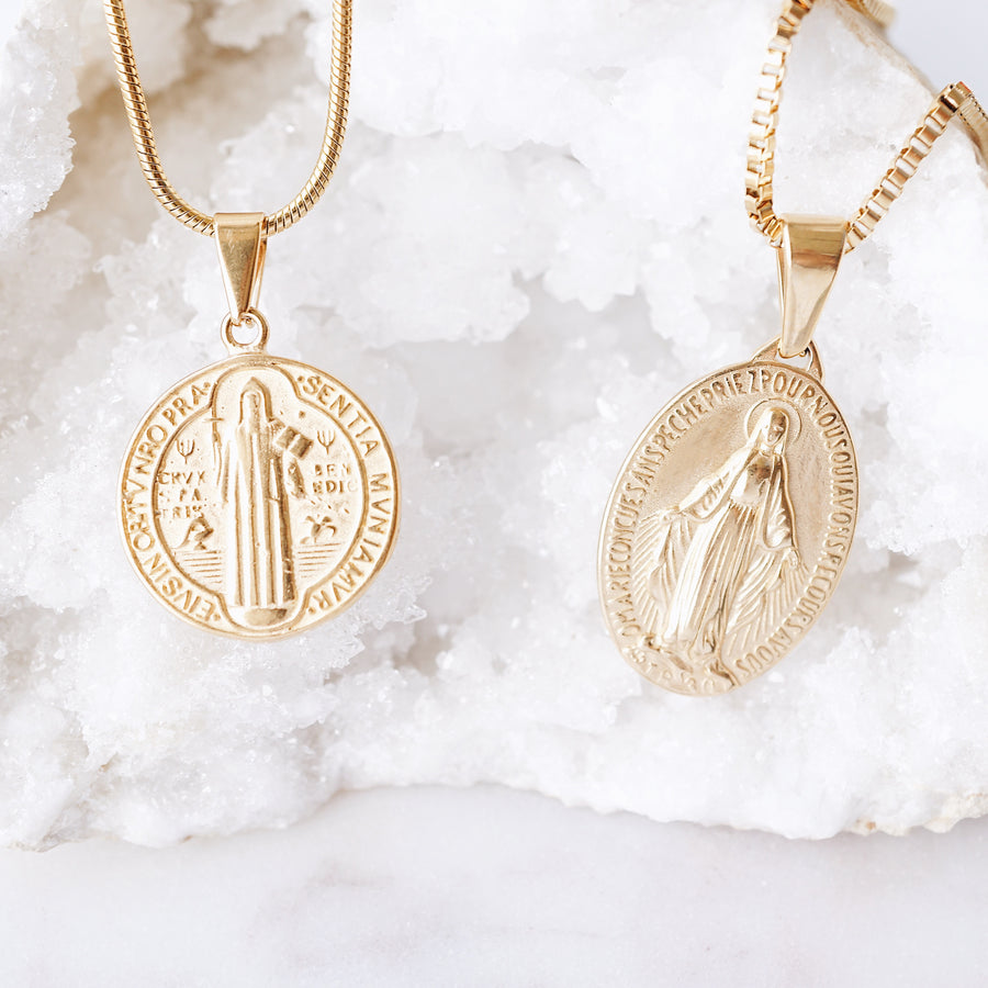 Saint Benedict Necklace