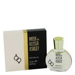 Alyssa Ashley Musk Perfumed Oil By Houbigant - ModaLtd Beauty