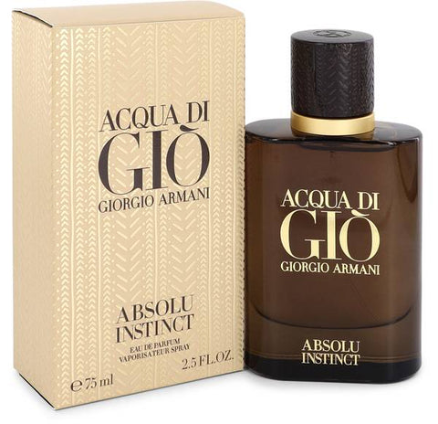 Acqua Di Gio Absolu Instinct Cologne for Men by Giorgio Armani
