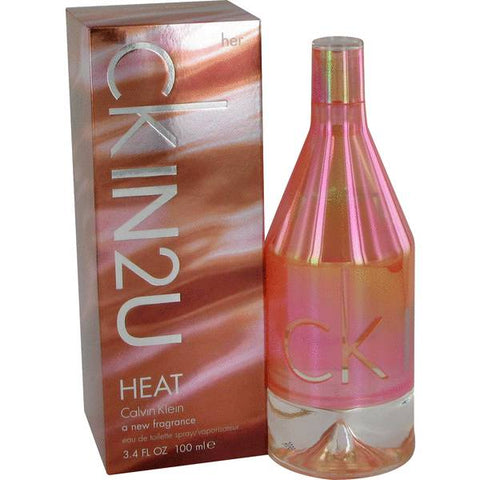 Ck In 2u Heat Eau De Toilette Spray  by Calvin Klein