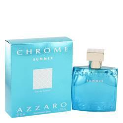 Chrome Summer Eau De Toilette Spray By Azzaro - ModaLtd Beauty