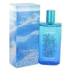 Cool Water Coral Reef Eau De Toilette Spray for Men 4.2 Oz  By Davidoff - ModaLtd Beauty