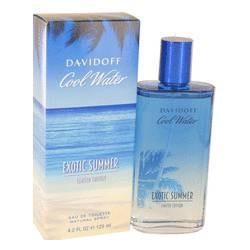 Cool Water Exotic Summer Eau De Toilette Spray  4.2 Oz for Men By Davidoff - ModaLtd Beauty