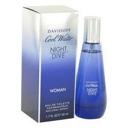 Cool Water Night Dive Eau De Toilette Spray for Women By Davidoff - ModaLtd Beauty