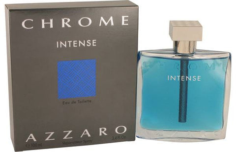 Chrome Intense Eau De Toilette Spray By Loris Azzaro