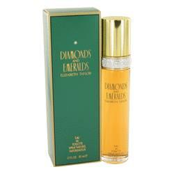 Diamonds & Emeralds Eau De Toilette Spray By Elizabeth Taylor - ModaLtd Beauty