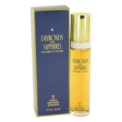 Diamonds & Saphires Eau De Toilette Spray By Elizabeth Taylor - ModaLtd Beauty