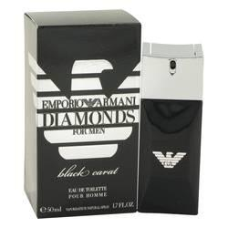 Emporio Armani Diamonds Black Carat Eau De Toilette Spray By Giorgio Armani - ModaLtd Beauty