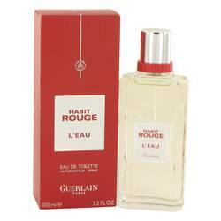 Habit Rouge L'eau Eau De Toilette Spray By Guerlain - ModaLtd Beauty