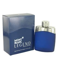 Montblanc Legend Eau De Toilette Spray (Special Edition-Blue) By Mont Blanc - ModaLtd Beauty