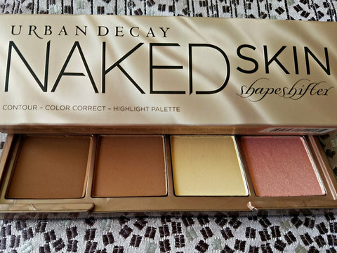 Urban Decay Naked Skin Shapeshifter Contour, Color Correct, Highlight Palette # Medium Dark Shift