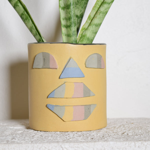 Rainbow Nerikomi Face Planter