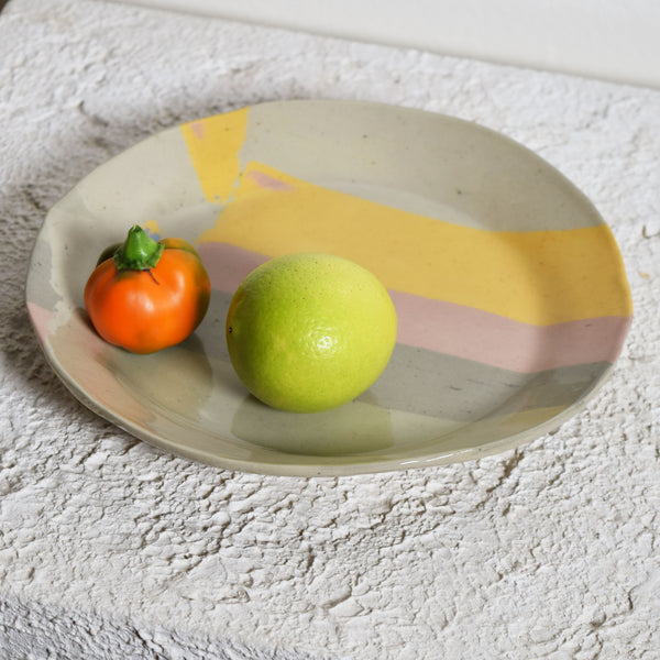 Muted Rainbow Small Plate