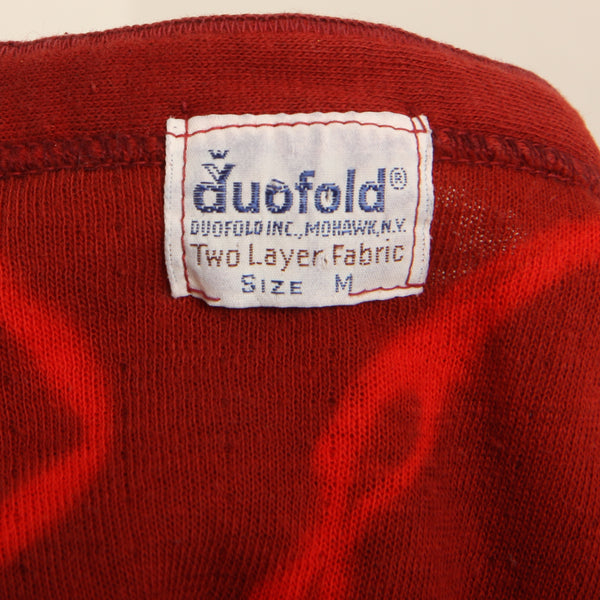 Vintage 60's Duofold Overdyed Cotton Union Suit