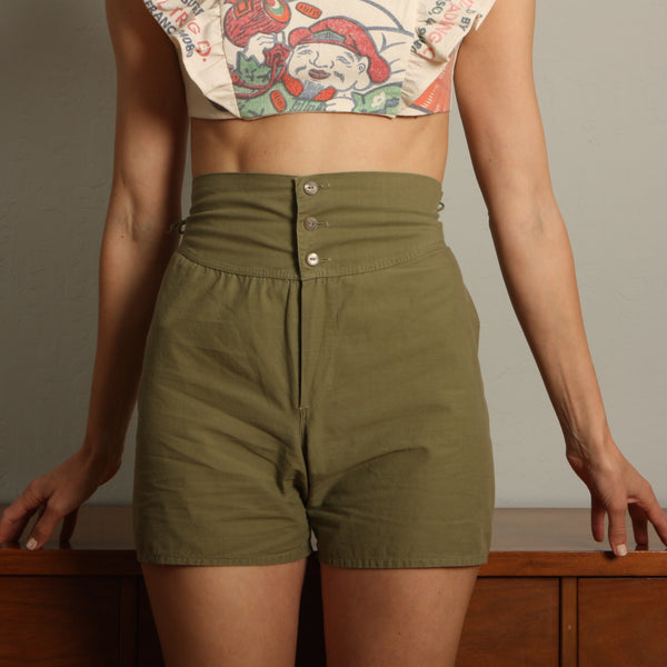 Vintage 40's WWII Army Boxer Shorts