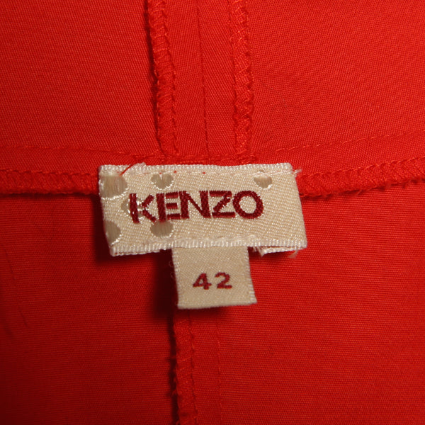 Kenzo Pleated Tie Top