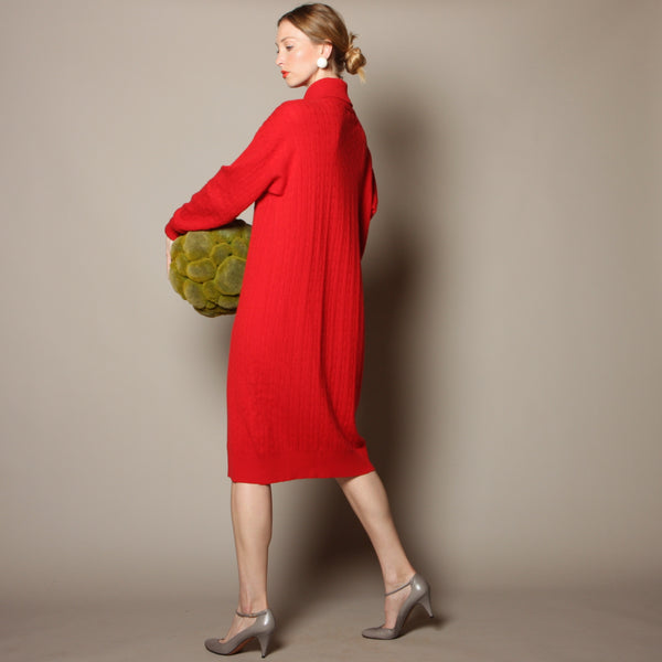 Vintage 80's Bill Blass Cashmere Sweater Dress