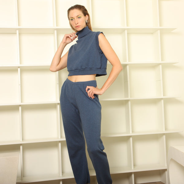 Vintage 80's Soft Cotton Lounge Ensemble