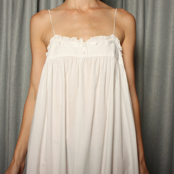 Vintage 80's Victoria's Secret Camisole Dress