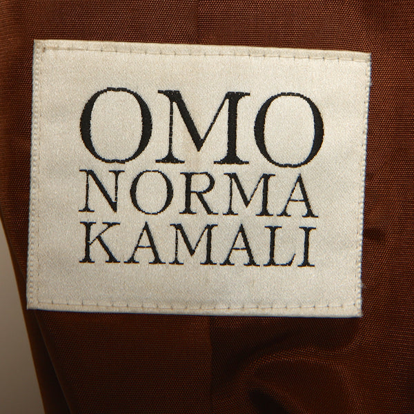 Vintage early 80's OMO Norma Kamali Leather Duster
