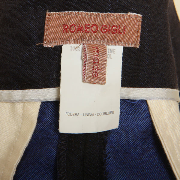 Vintage early 90's Romeo Gigli High Waist Taper Pants