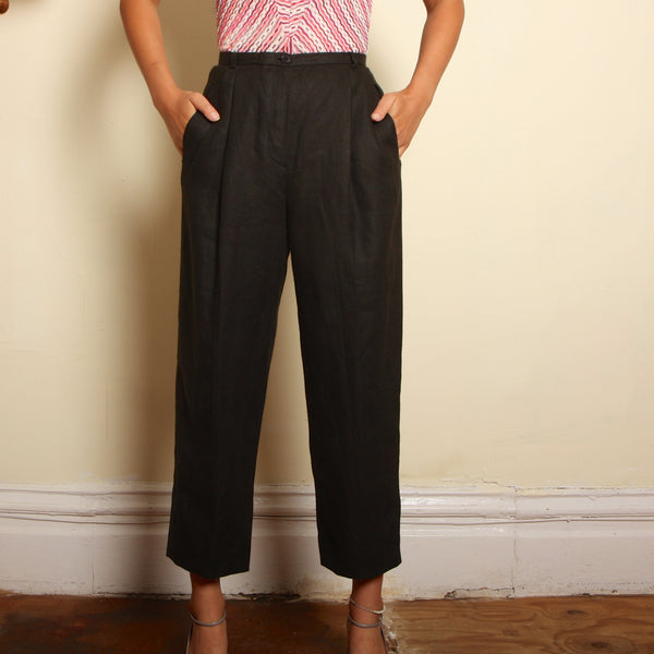 Vintage early 90's Giorgio Armani Linen Trousers
