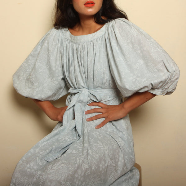 Vintage 80's Finland Cotton Trapeze Dress