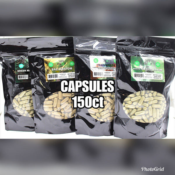 Earth - Capsules - 150ct - CLICK FOR STRAINS