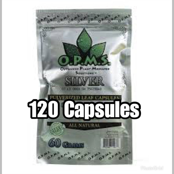 OPMS - Capsules - 120ct - CLICK FOR STRAINS