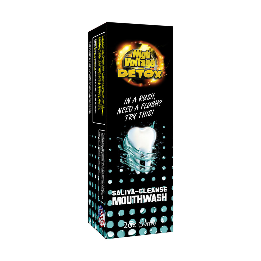 High Voltage - Saliva Cleanse Mouthwash - Detox