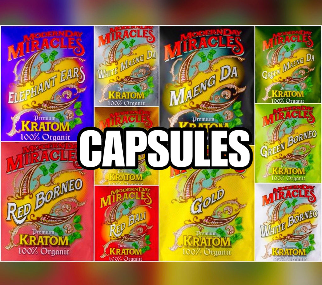 Modern Day Miracles - Capsules - 25ct - CLICK FOR AVAILABLE STRAINS