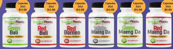 Tropical Roots - Capsules - 30ct