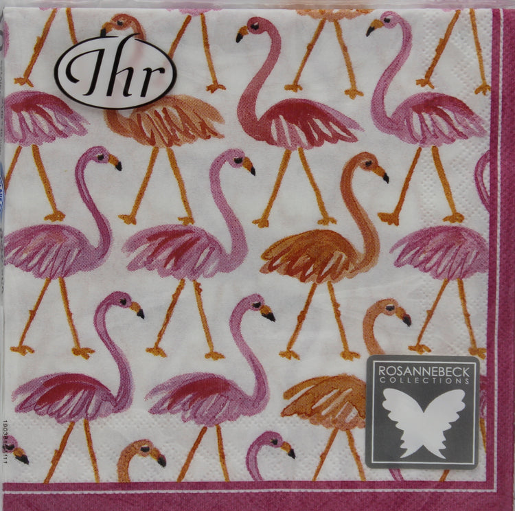 Walk like a Flamingo Cocktail Napkins