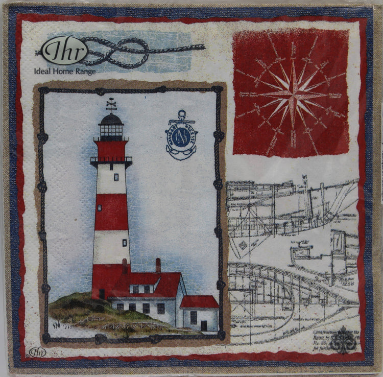 Admiral's Cup Lighthouse Napkins