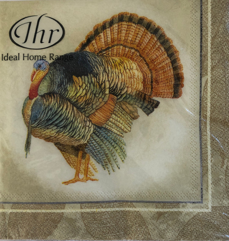 Classic Turkey Cocktail Napkins
