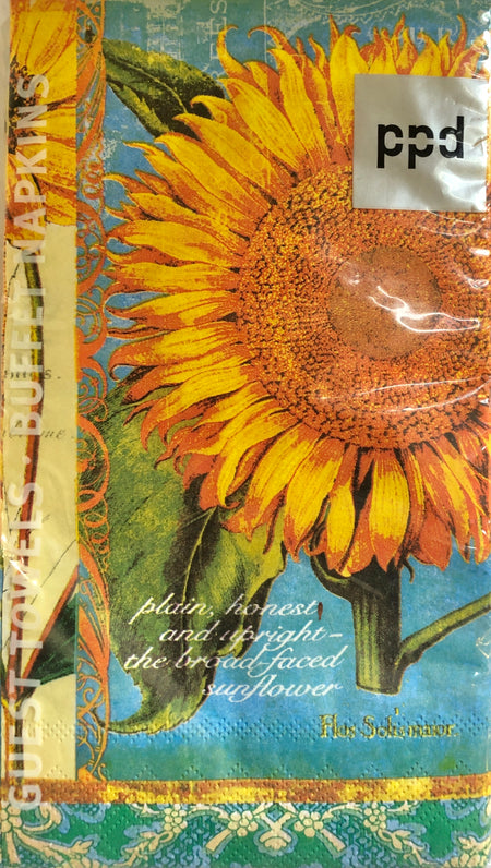 Helianthus Guest Towels