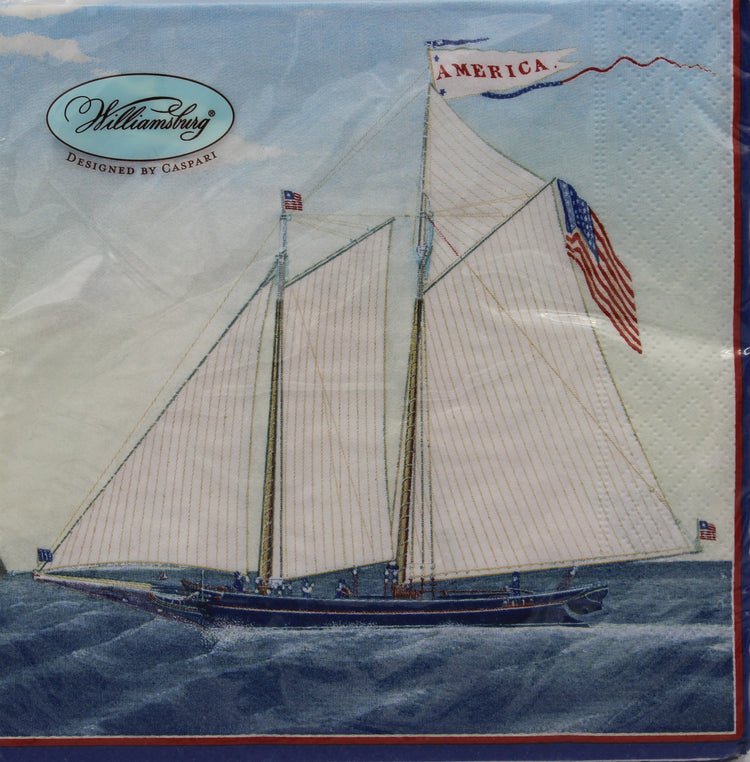 Maritime Sailboat Napkins