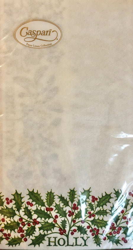 Berries and Vines Christmas Guest Towels