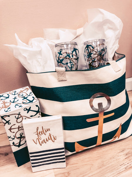 """Feelin' Nauti"" Gift Basket"