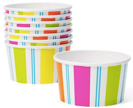 Awning Stripe Treat Cups