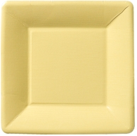 Yellow Salad/Dessert Plates - Square