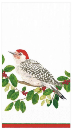 Winter Songbirds Guest Napkin