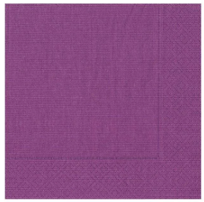 Aubergine Cocktail Napkins