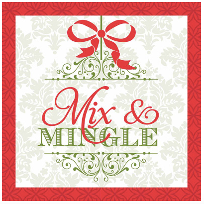 Mix and Mingle Cocktail Napkins