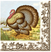 Woodland Thanksgiving Dinner Napkins